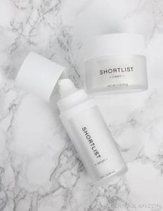 Shortlist Skincare Products on www.girllovesglam.com