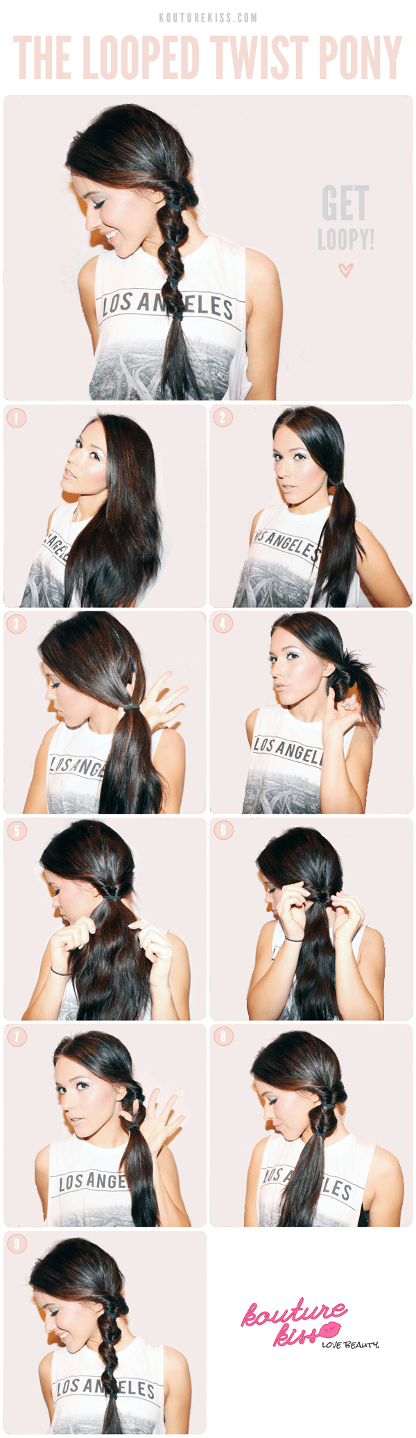 Loop Twist Ponytail