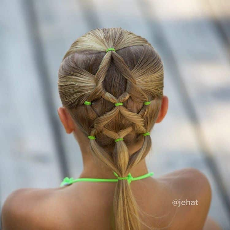 Easy Swim Hairstyle