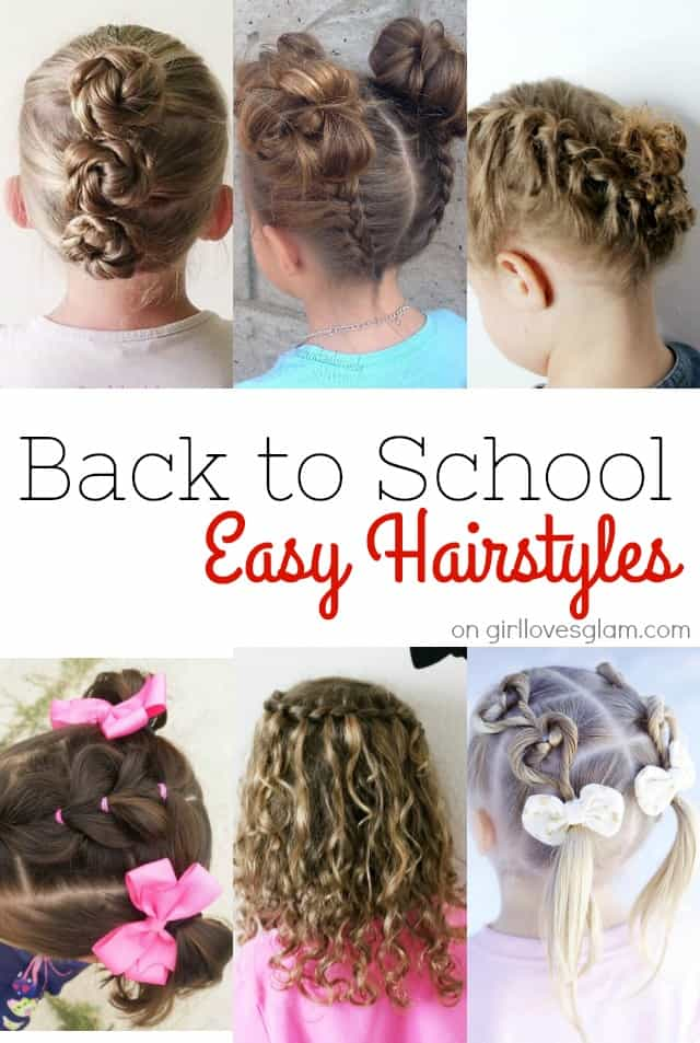 Back to School Hairstyles - Girl Loves Glam