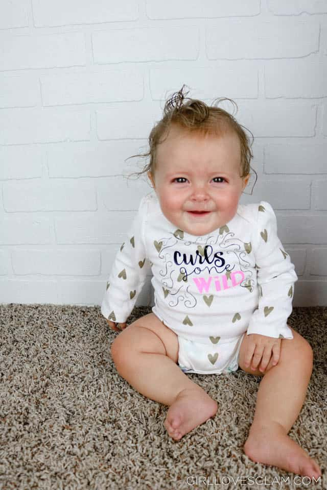 Curls Gone Wild Onesie on www.girllovesglam.com