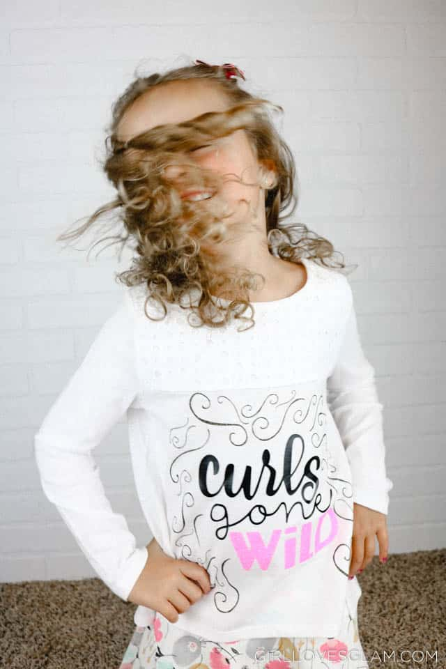 Curls Gone Wild Shirt on www.girllovesglam.com