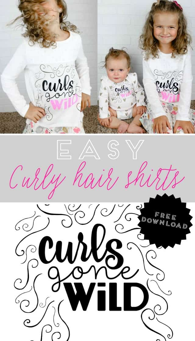 Curly Hair Shirts on www.girllovesglam.com