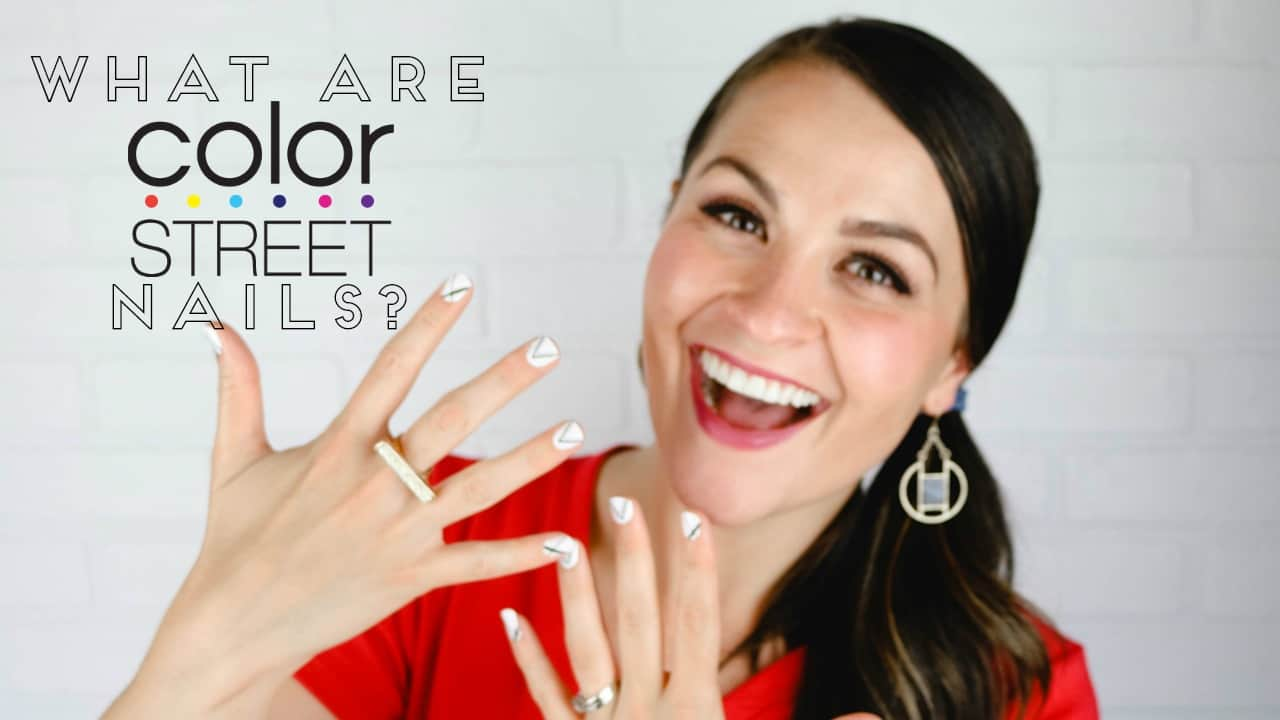 How to Apply Color Street Nails on www.girllovesglam.com