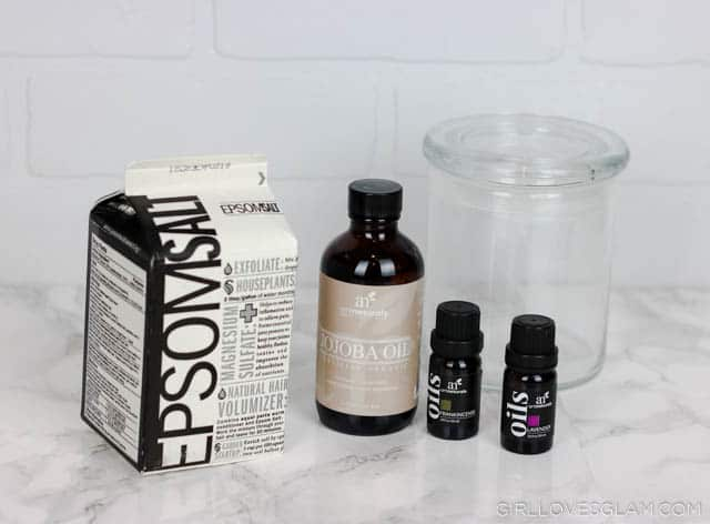 Bedtime Bath Salt Ingredients on www.girllovesglam.com