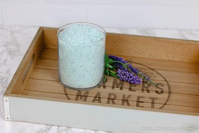 Bedtime Bath Salt Recipe on www.girllovesglam.com