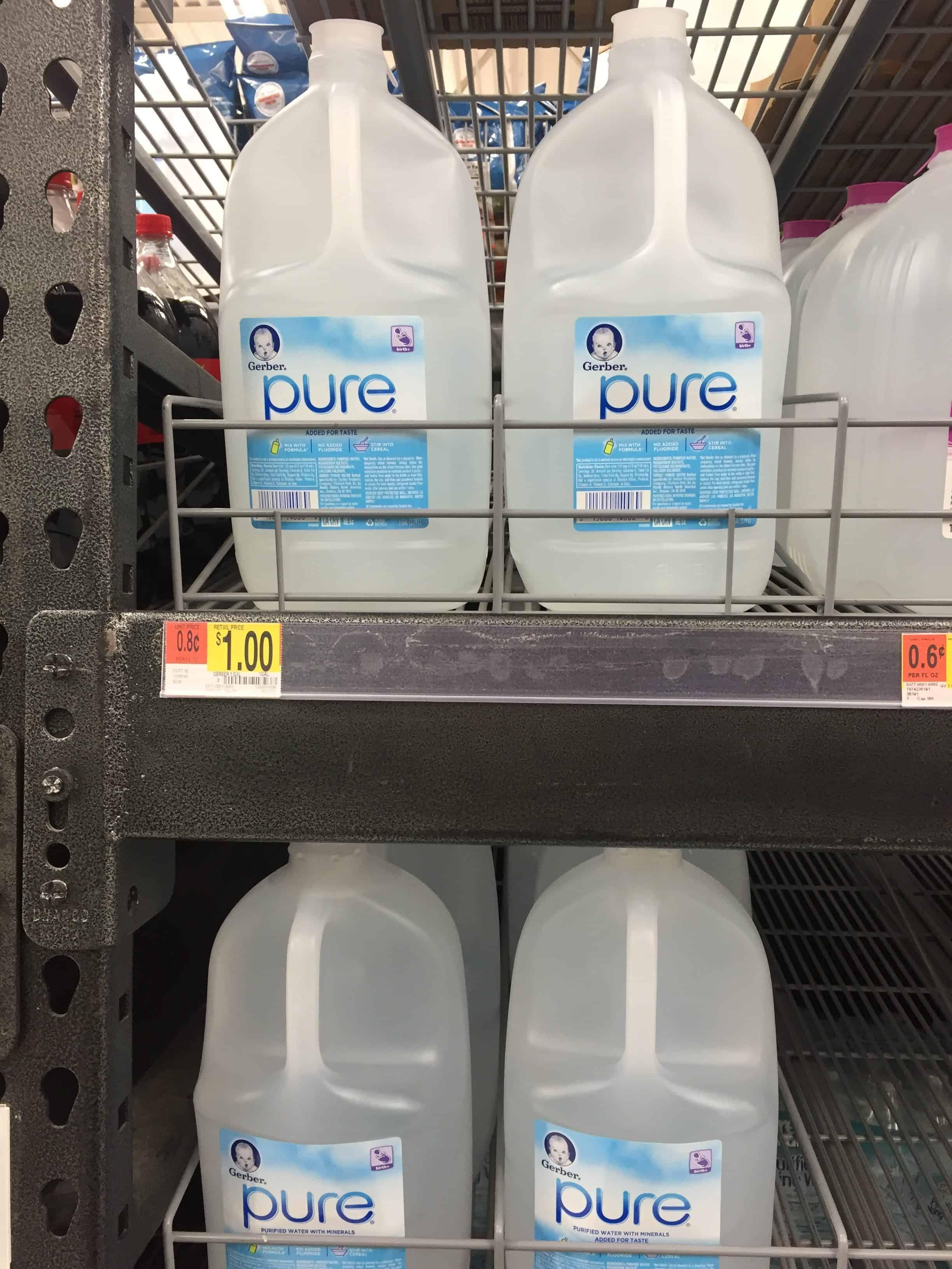 Gerber® Pure® Water at walmart