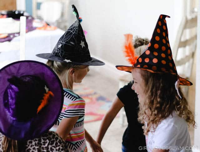Decorated Witch Hats on www.girllovesglam.com #halloween