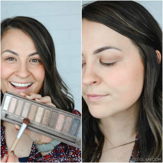 Fall Eyeshadow Step 1 on www.girllovesglam.com