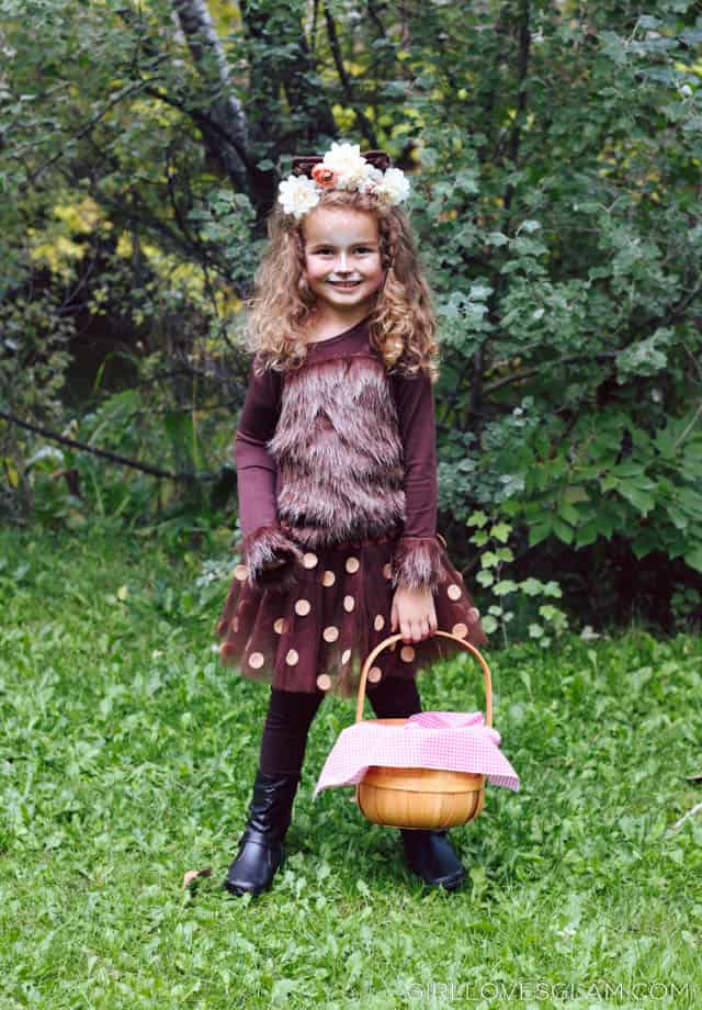 Girl's Big Bad Wolf Costume on www.girllovesglam.com