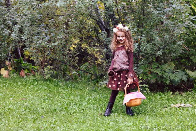 Pretty Wolf Costume for Girls on www.girllovesglam.com