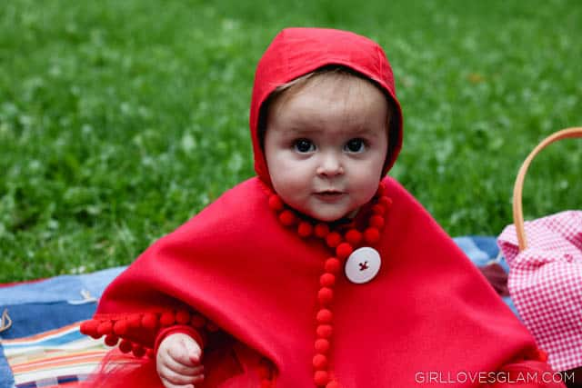 Baby Little Red Riding Hood costume on www.girllovesglam.com