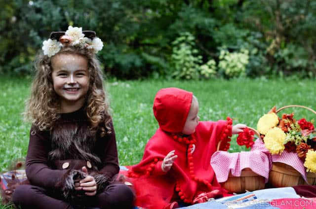 Little Red Riding Hood and Big Bad Wolf Costume on www.girllovesglam.com