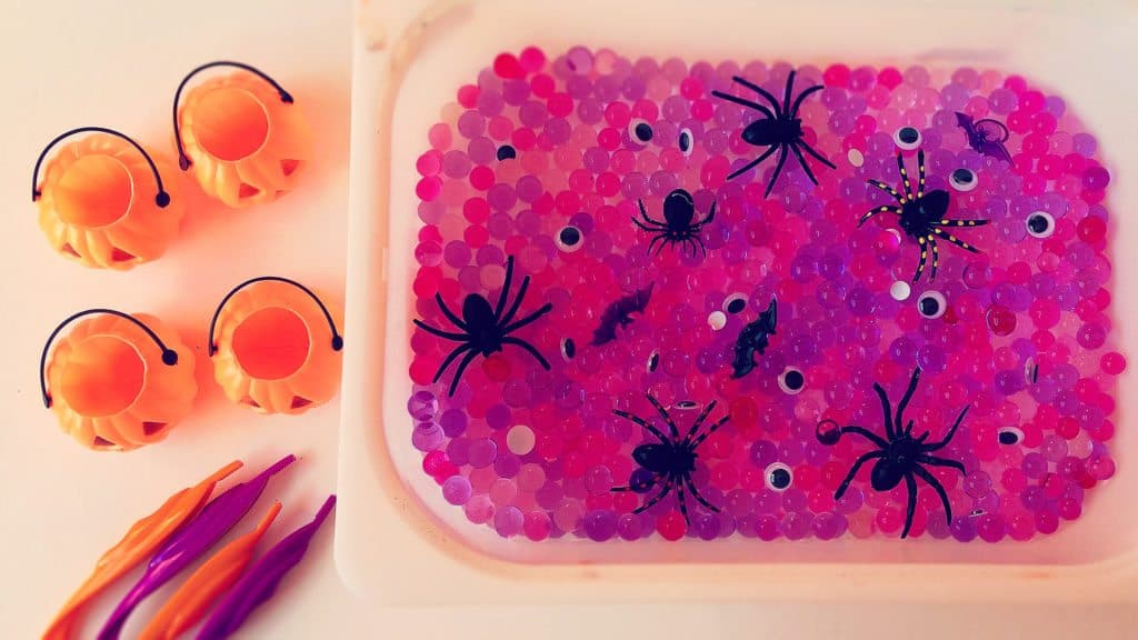 Halloween Witch Potion Sensory Table
