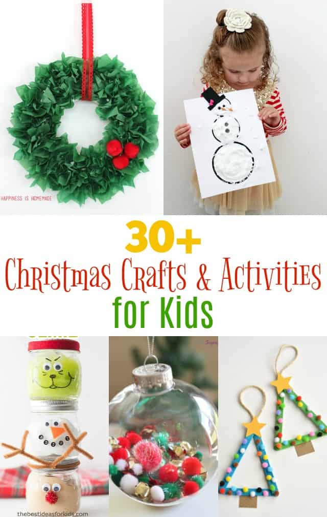 Christmas Crafts and Activities for Kids on www.girllovesglam.com