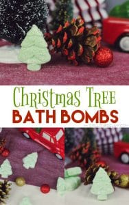 Christmas Tree Bath Bombs on www.girllovesglam.com