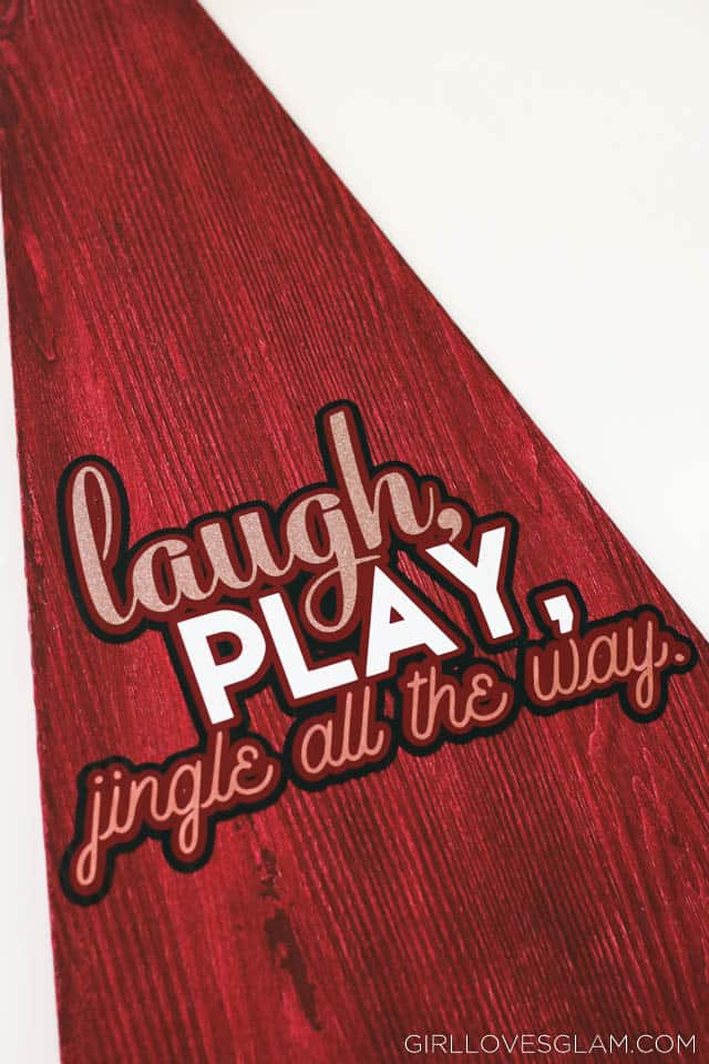 Laugh, Play, Jingle All the Way Tree on www.girllovesglam.com