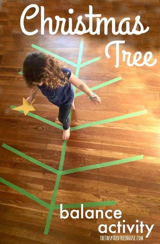 Christmas Tree Balance Game