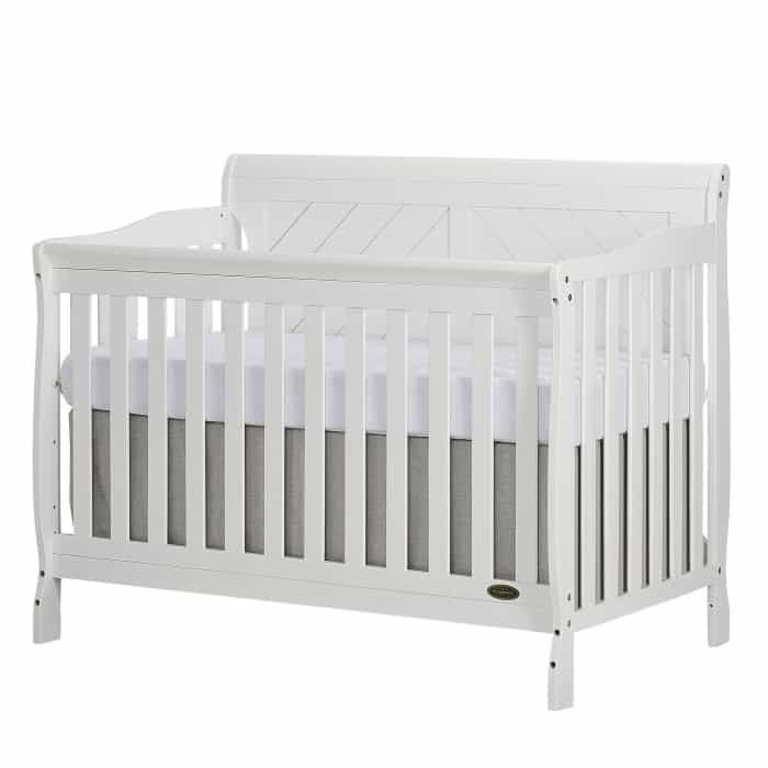 Ashton Full Panel 5 in 1 Convertible Crib