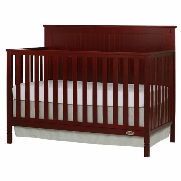 Alexa 5 in 1 Convertible Crib