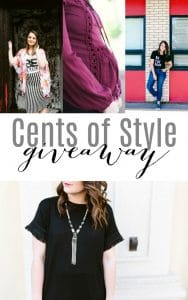 Cents of Style Giveaway