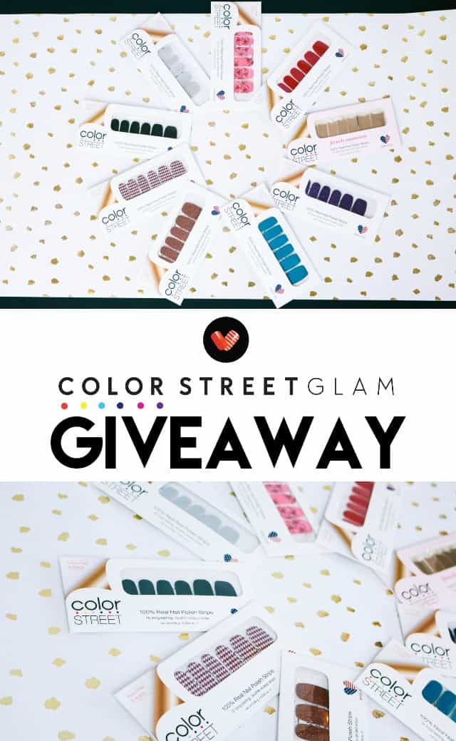 Color Street Nails Giveaway on www.girllovesglam.com