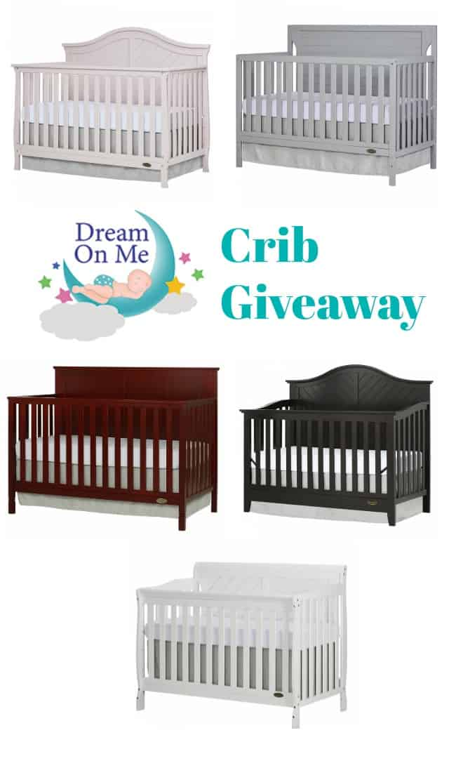 Dream On Me Crib Giveaway on www.girllovesglam.com