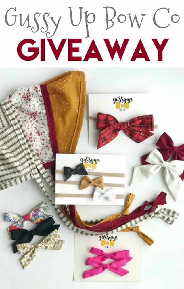 Gussy Up Bow Co Giveaway on www.girllovesglam.com