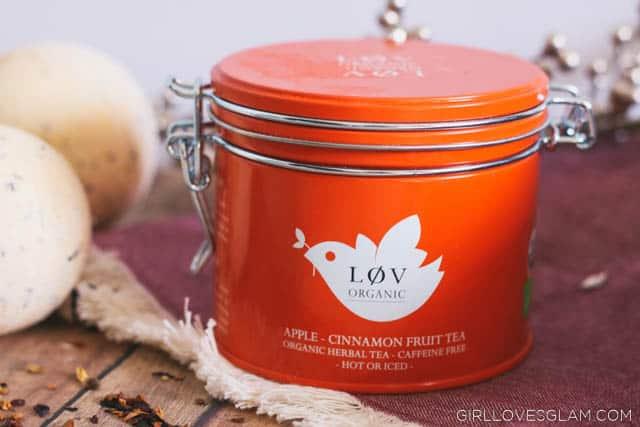 Apple Cinnamon Tea on www.girllovesglam.com