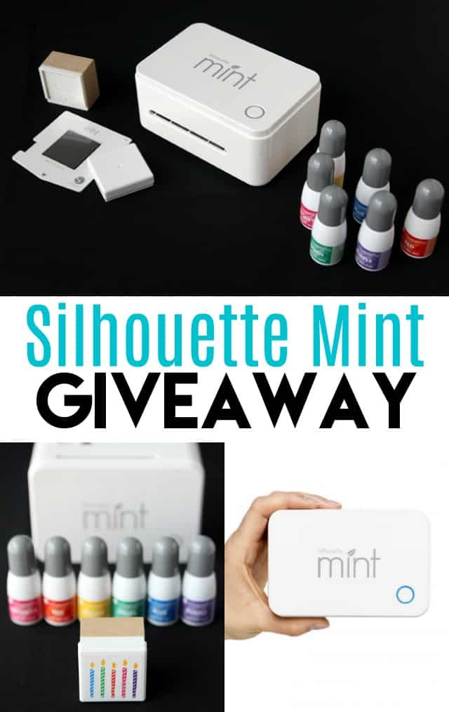 Silhouette Mint Giveaway