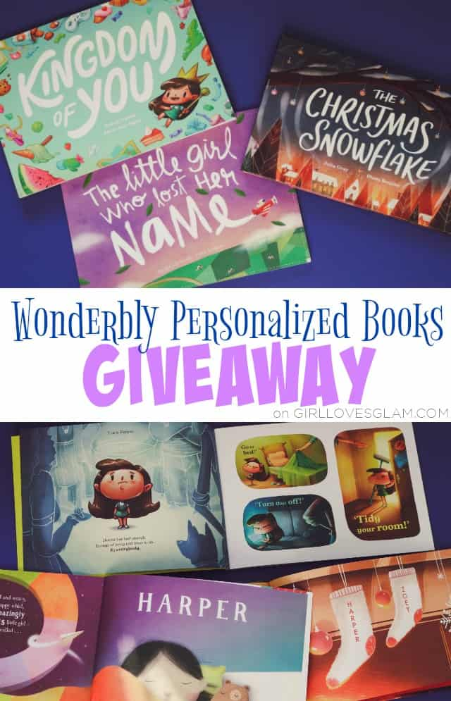 Wonderbly Personalized Books Giveaway on www.girllovesglam.com