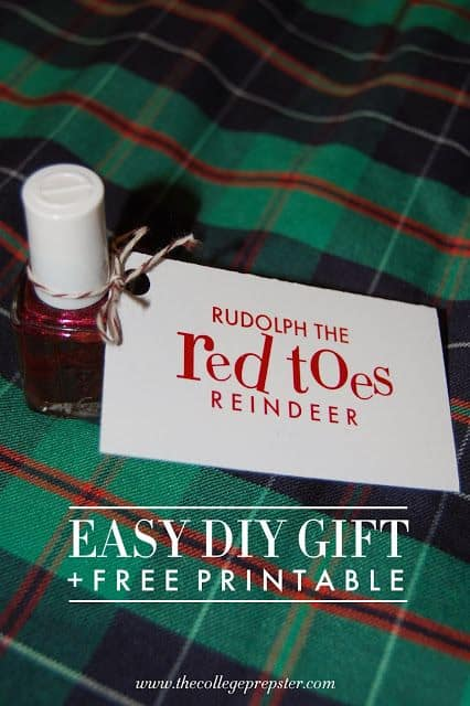 Rudolph Red Toes Printable