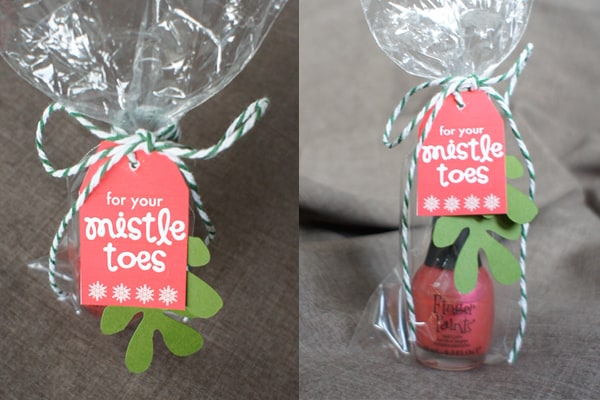 Mistle Toes Gift Tag