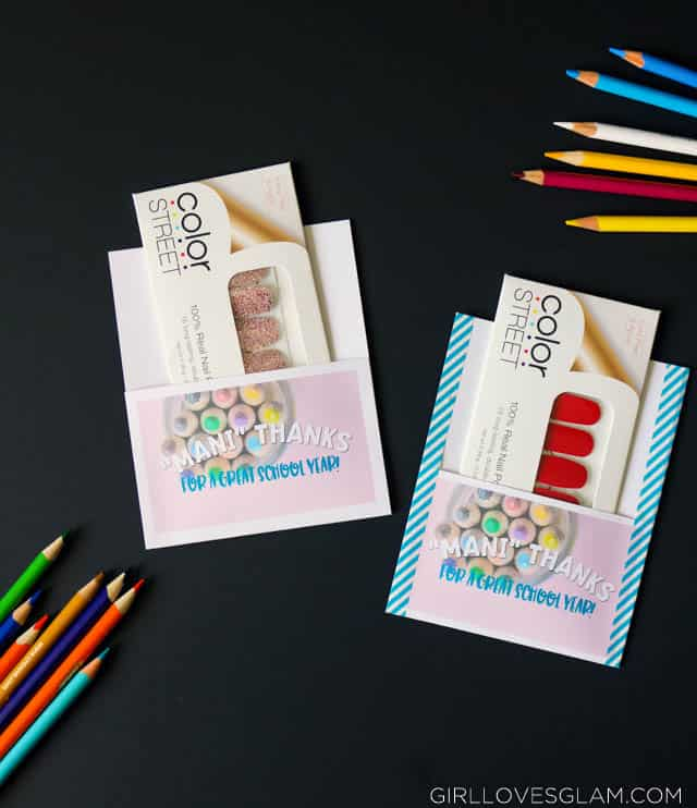 Teacher Gift Idea Nail Polish on www.girllovesglam.com