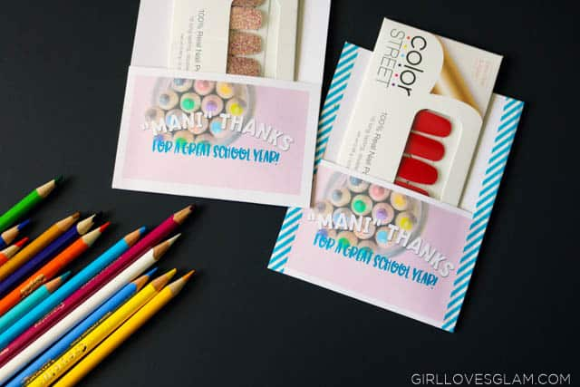 Color Street Gift on www.girllovesglam.com