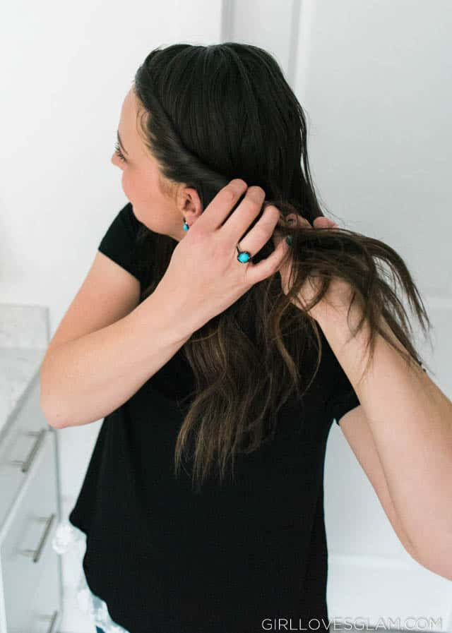 JTV Turquoise Black Ring