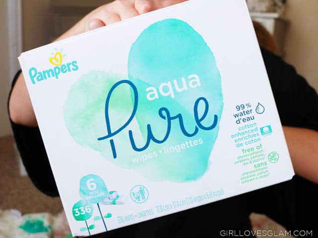 Pampers Pure Aqua Wipes Review