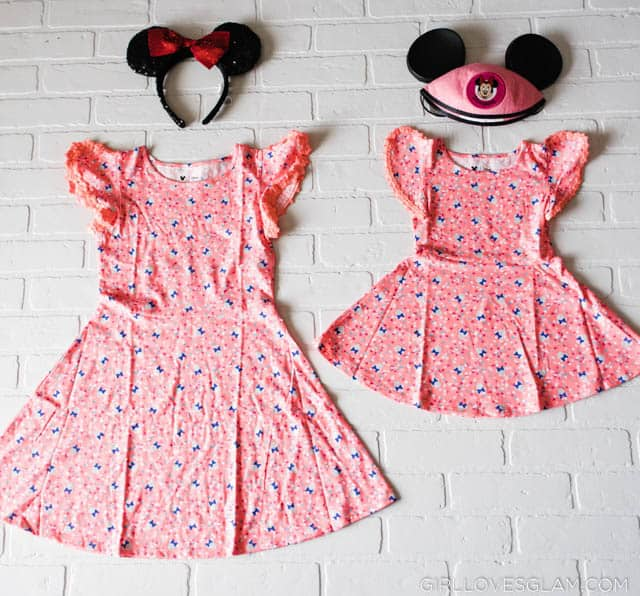 Minnie Mouse Simple Dress
