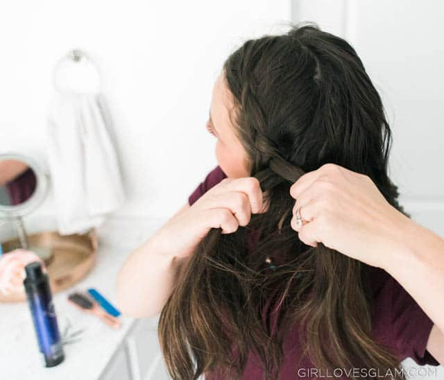 How to dutch french braid