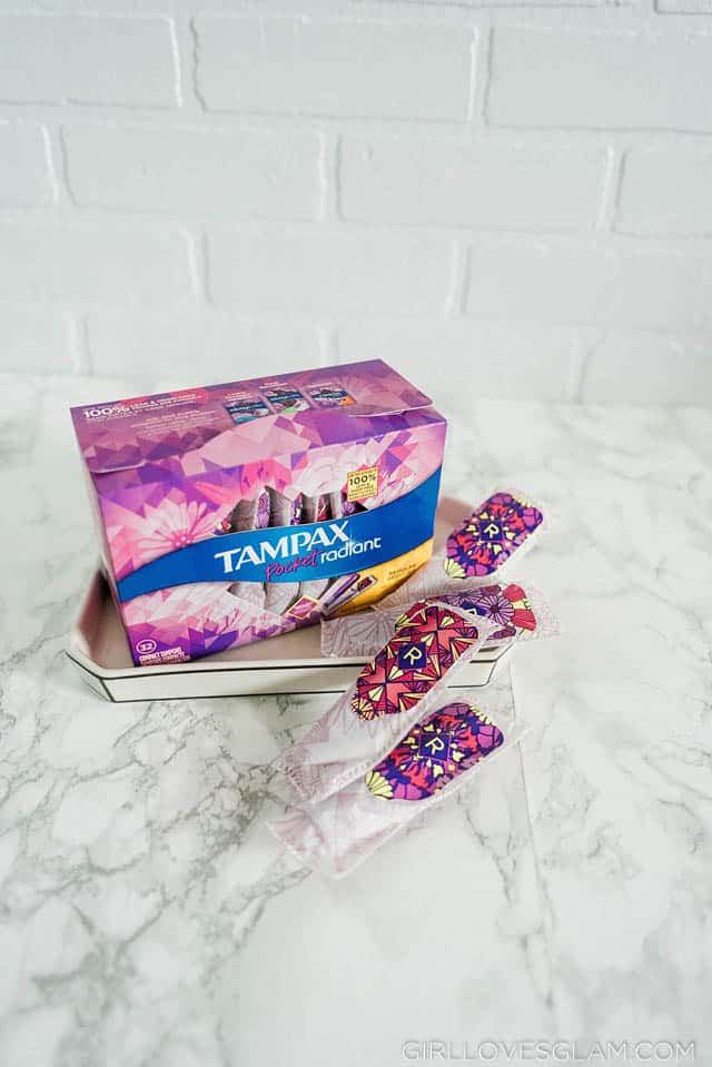 Tampax Pocket Radiant Tampons