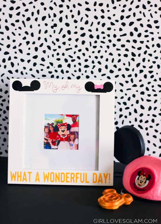 Disneyland Picture Frame DIY