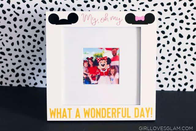 Disneyland Picture Frame