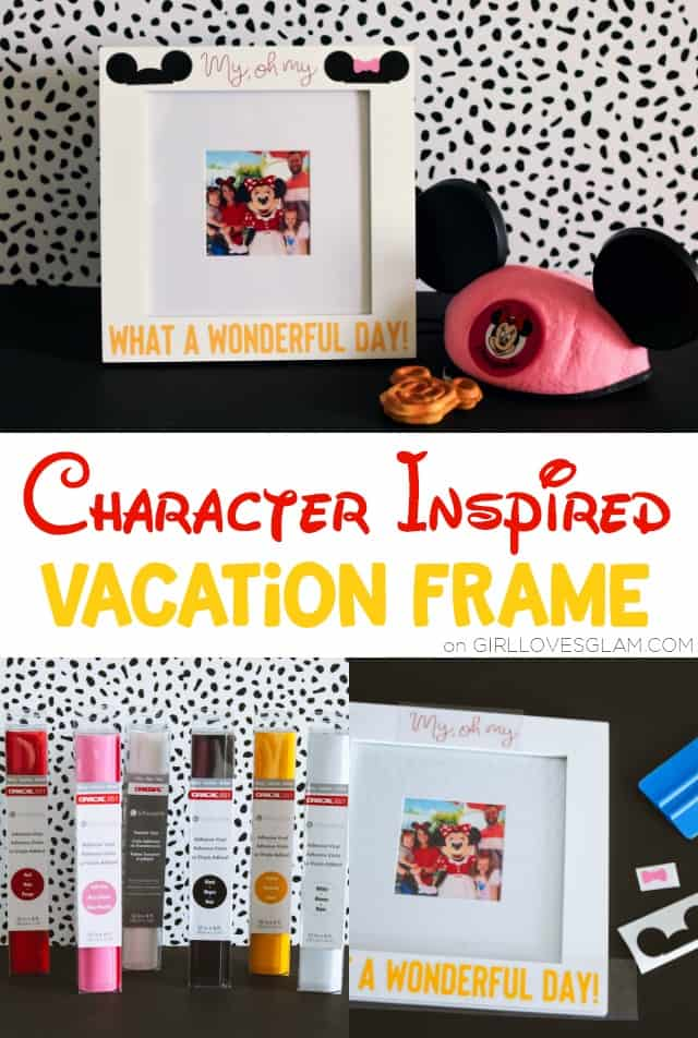 Disney Vacation Picture Frame on www.girllovesglam.com