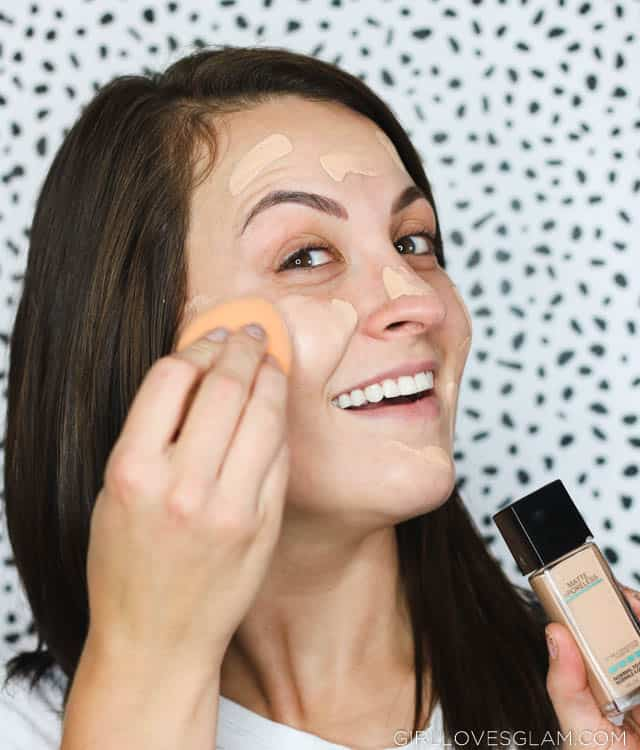 Using Maybelline Fit Me Foundation