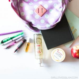 Burt's Bees Back to School