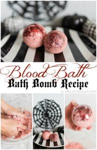 Blood Bath Bath Bomb Recipe