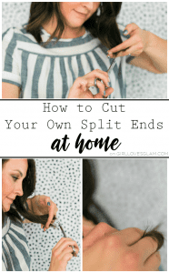How to Cut Your Own Split Ends at Home