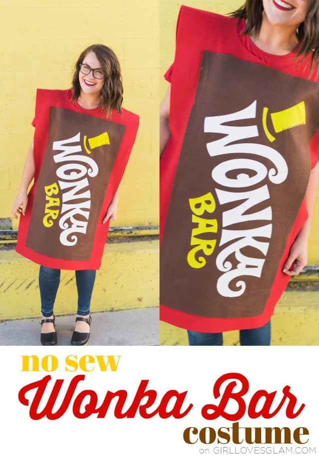 Wonka Bar Costume Girl Loves Glam