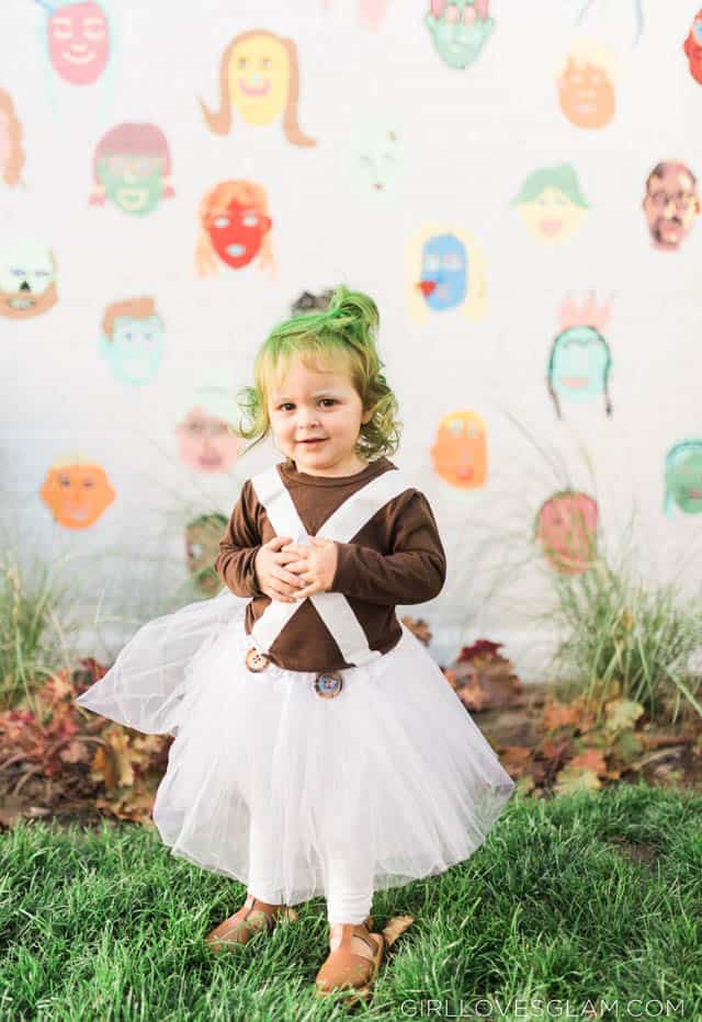 Oompa Loompa Girl Costume