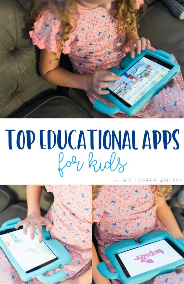 Top Educational Apps for Kids on www.girllovesglam.com